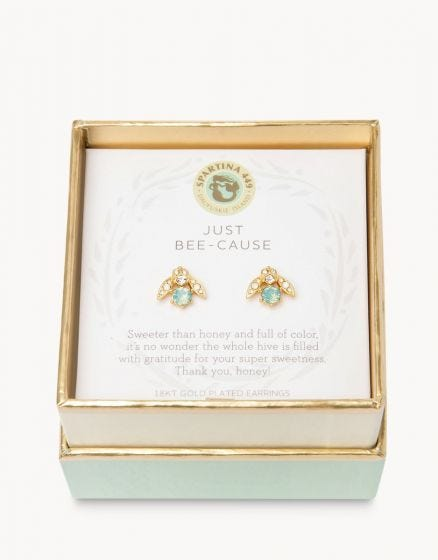 Just Bee-Cause Earrings