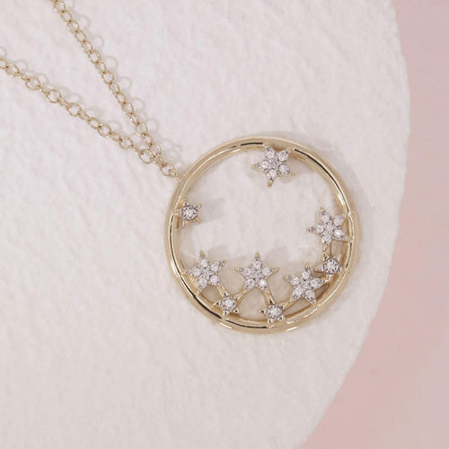 A Star Is Born Necklace - The Silver Dahlia