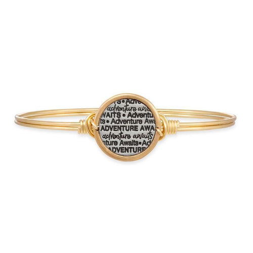 Adventure Awaits Bangle Bracelet