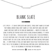 Load image into Gallery viewer, Blank Slate Necklace
