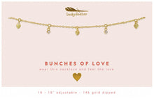 Load image into Gallery viewer, Dangle Necklace- Bunches of Lov