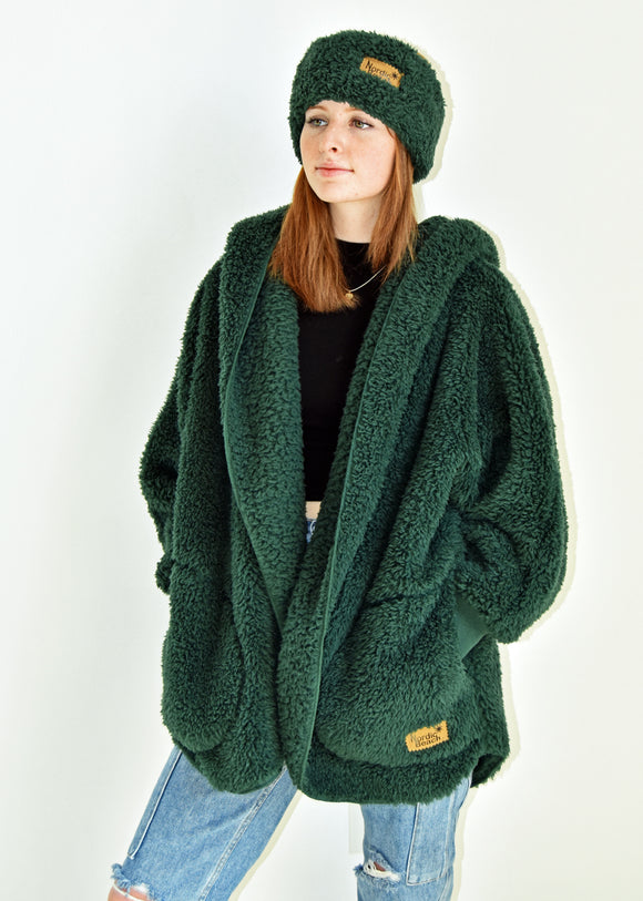 Cozy Cardigan- Emerald Forest