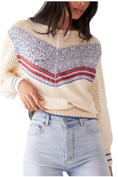Geo Party Sweater