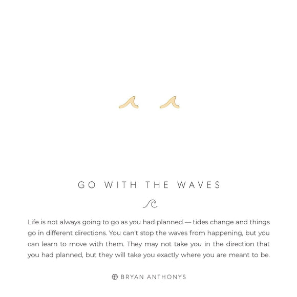 Go With The Wave Earrings