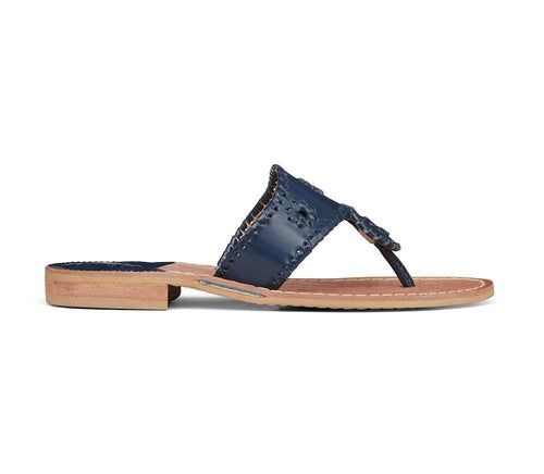 Jacks Flat Sandal- Midnight
