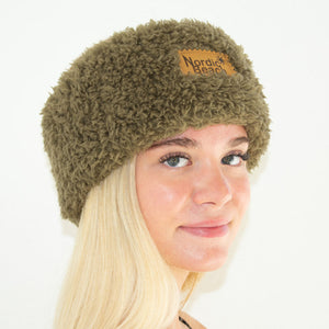 Cozy Headwrap-Olive U
