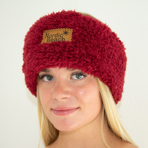 Cozy Headwrap-Red Velvet