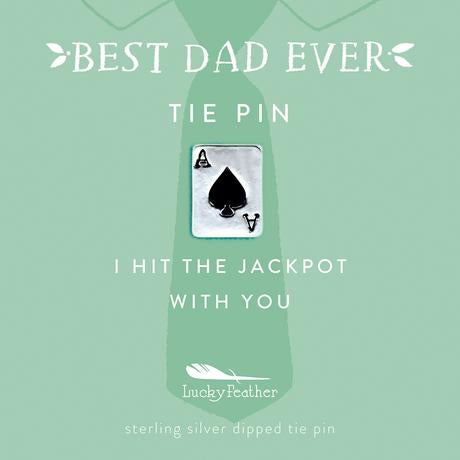 Tie Pin - I Hit the Jackpot with You