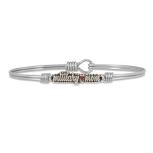 Load image into Gallery viewer, Military Mom Bangle Bracelet