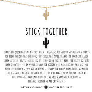 Stick Together Necklace