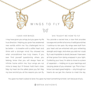 Wings To Fly Set Necklace