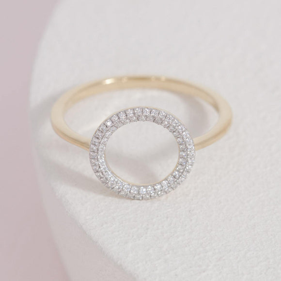 You Are My Everything Ring-Gold