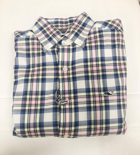 Slim Fit Whale Shirt Bahama Breeze Button Down