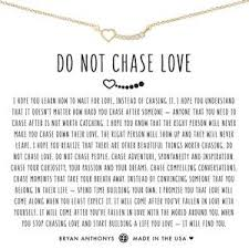 Do Not Chase Love Necklace