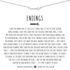 Endings Necklace