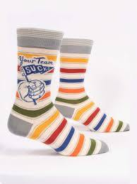 Your Team Sucks Socks Men's Socks