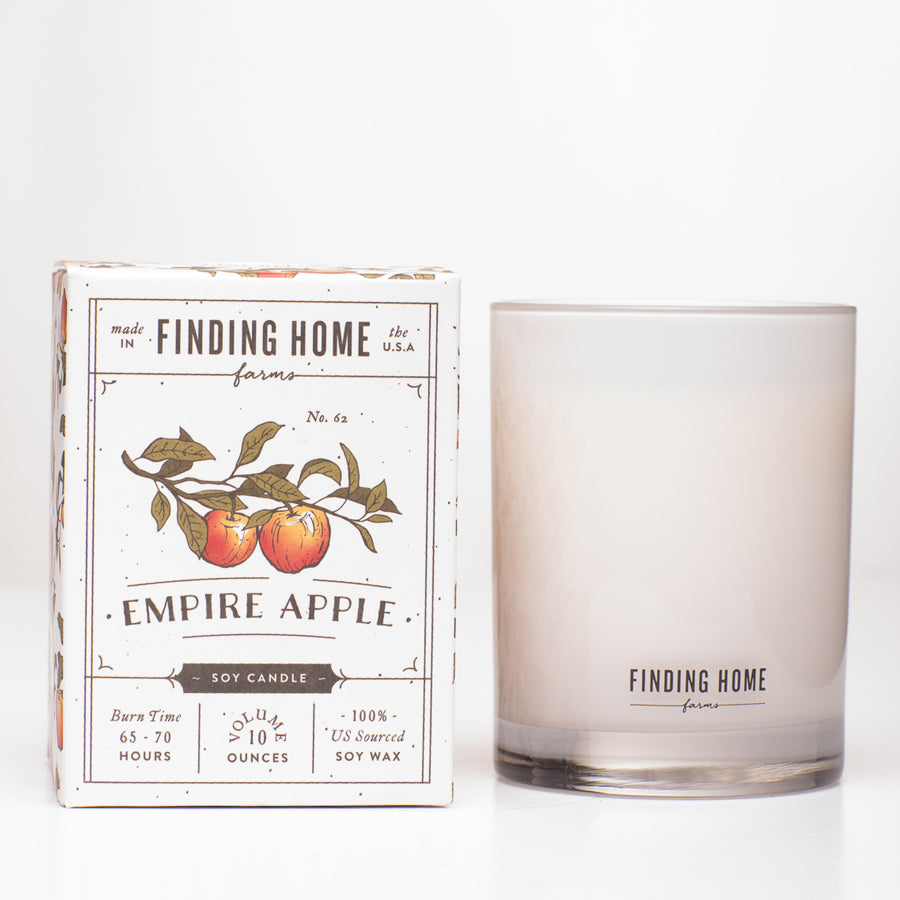 Empire Apple Boxed Candle