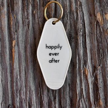 Happily Ever After Motel Key Tag
