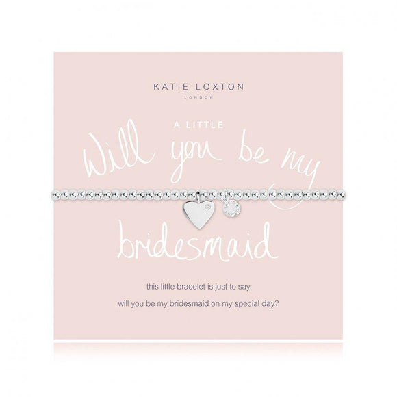a little WILL YOU BE MY BRIDESMAID