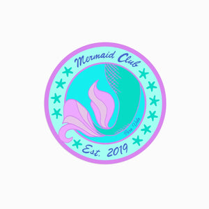 Mermaid Club Sticker