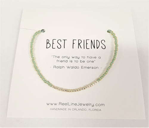 Silver Best Friends Bracelet