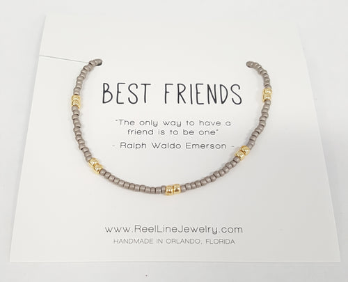 Gold Boho Bracelet - Best Friends