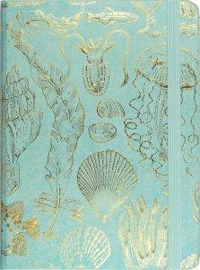 Sealife Sketches Journal - The Silver Dahlia