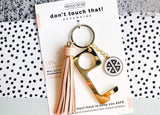 Don't Touch That! Keychain