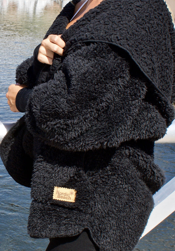 Cozy Cardigan - Black Licorice