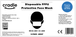 FFP2 Surgical Face Mask - 50 Pack
