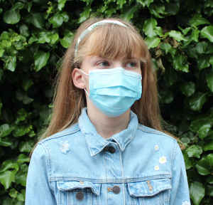 Cradle Child's FFP2 Protective Face Mask Supporting the NHS