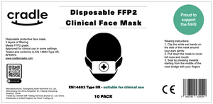 Clinical Type IIR Face Mask - 10 Pack
