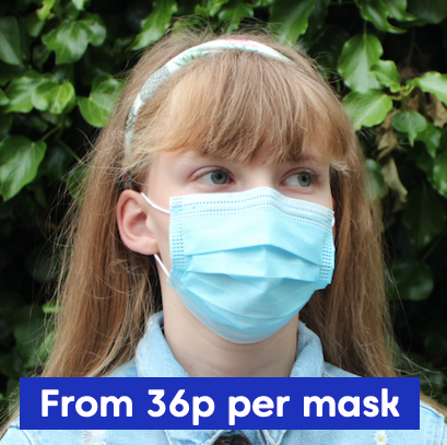 Children's FFP2 Protective Face Mask - 10 Pack