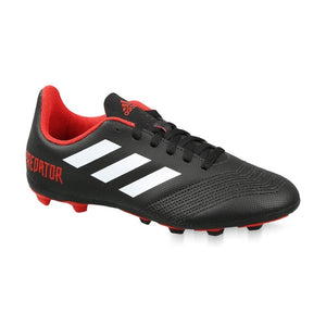 KIDS-BOYS ADIDAS FOOTBALL PREDATOR 18.4 FLEXIBLE GROUND BOOTS