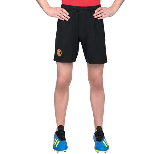 KIDS-BOYS ADIDAS FOOTBALL MANCHESTER UNITED FC HOME SHORTS