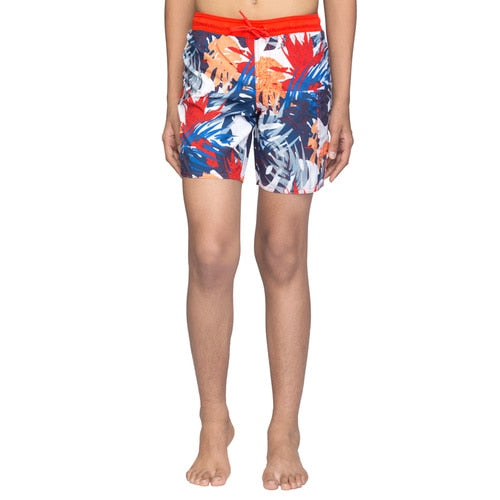 Boys' adidas  AOP ML SWIM SHORTS