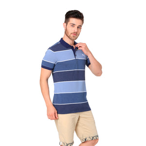 COLOR BLOCKED POLO M