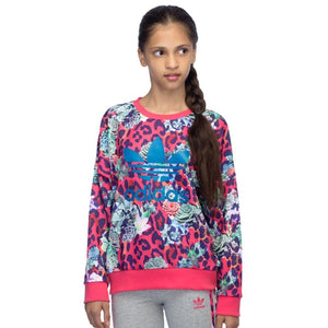 Girls' adidas Originals Rose Crew Sweatshirt