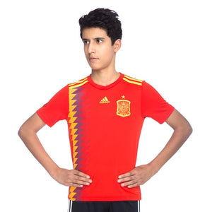 KID'S ADIDAS FOOTBALL SPAIN HOME JERSEY