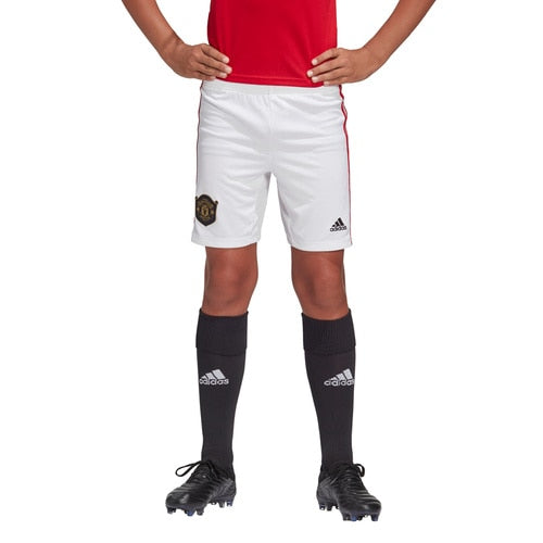 Kids-Boys' adidas Football Manchester United Home Shorts
