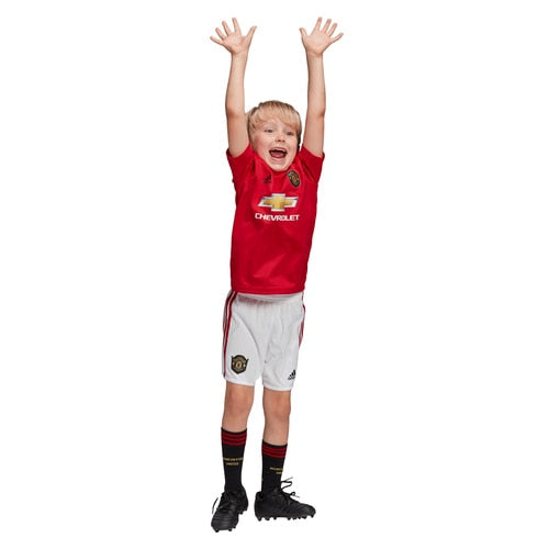 Kids-Unisex adidas Football Manchester United Home Mini Kit