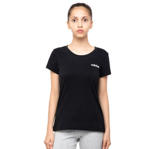 Girls adidas Essentials Plain Tee