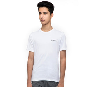Young Boys' adidas Essentials Plain Tee