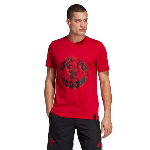 Men's adidas Football Manchester United DNA Graphic Tee