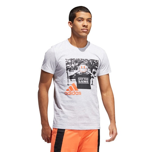 Men's adidas Basketball Not The Same Art Tee