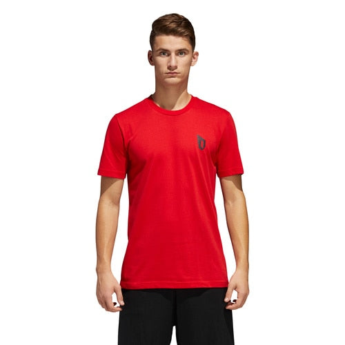 men's ADIDAS BASKETBALL DAME LOGO TEE