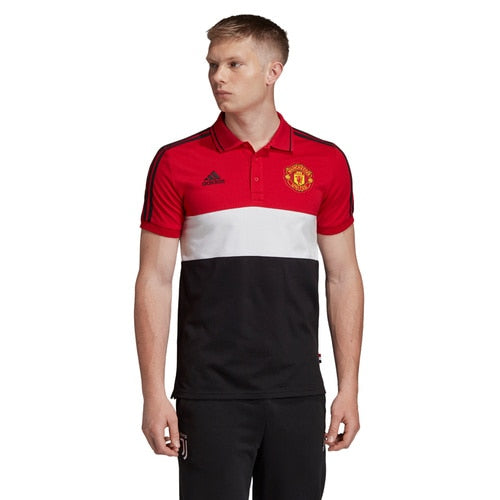 Men's adidas Football Manchester United Polo T-Shirt