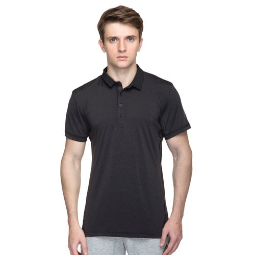 men's ADIDAS TENNIS HEATHERED POLO TEE
