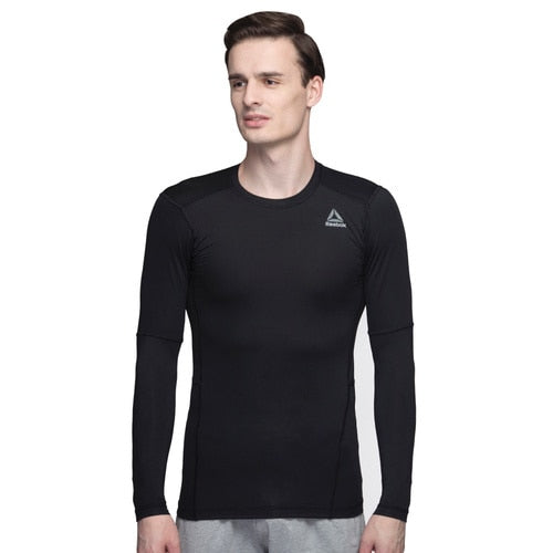 Men's Reebok TRAINING Workout Compression SOLID Tee