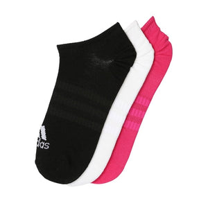 Unisex adidas Training Light No-Show Socks - 3 pairs